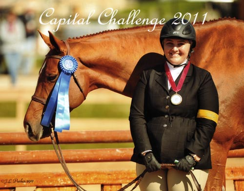 Chelsea Samuels and Brooklyn owned by Woodvale Inc Champion Adult Hunter 18-35 2011 Capital Challenge Photo JL Parker