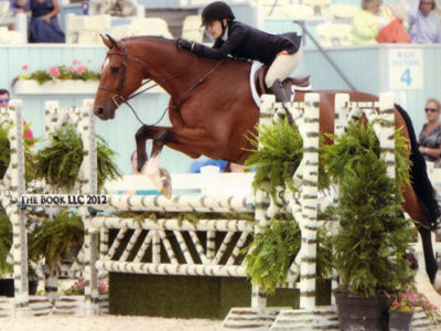 Laura Wasserman and Back in the Game Amateur/Owner Hunter 36 & Over 2012 Devon Horse Show Photo The Book LLC
