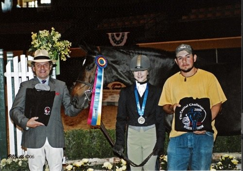 Lucy Davis and Harmony Champion Large Junior Hunters 15 & Under 2006 Capital Challenge Horse Show Photo ONeills