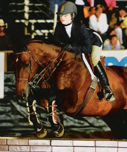 Lucy Davis and Hearts on Fire Champion 2006 Pacific Coast Horsemanship Medal Finals 14 & Under Portuguese Bend National Photo JumpShot