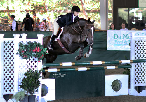Demi Steigler 2010 Champion LA County Medal Finals Los Angeles Equestrian Center Photo Captured Moment