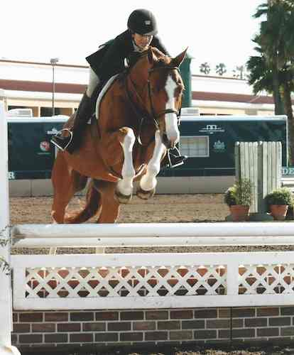 "Ecole Lathrop and Banderas 3'3"" Amateur Owner Hunter 2014 Del Mar National"