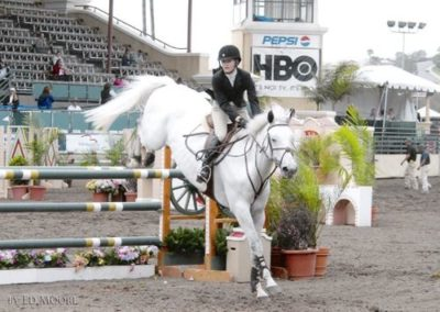 Lucy Davis and Freeze Frame 2007 Del Mar National Photo Ed Moore