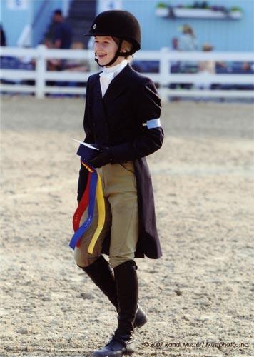Lucy Davis Best Child Rider 2007 Devon Horse Show Photo Randi Muster