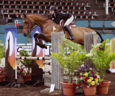 Zoie Nagelhout and Piper owned by Sylvia O'Connor 2009 Del Mar National Photo Osteen