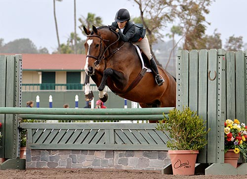 Laura Wasserman and Skyhawk 2017 Del Mar National Photo Osteen