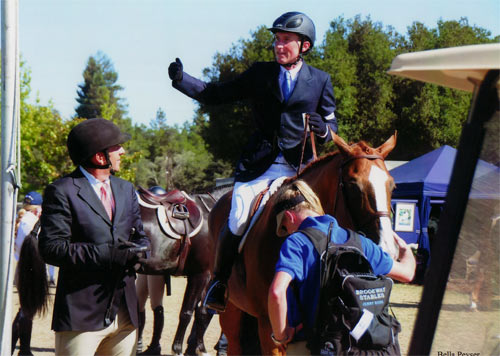 Archie Cox Richard Boh and Jenny Ross 2012 Menlo Charity Horse Show Photo Bella Peyser
