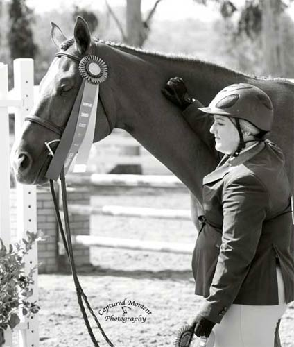 Chelsea Samuels with Adele Champion Low A/O Hunter 18-35 2013 Showpark Summer Classic Photo Captured Moment