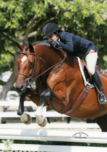 Laura Wasserman and Back in the Game Amateur Owner Hunter 36 & Over 2013 Showpark Summer Classic Photo Captured Moment