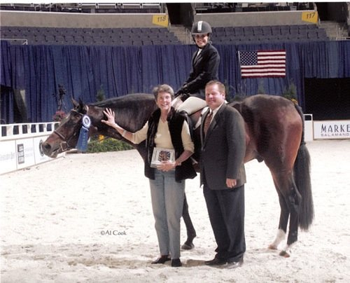 Quality Time owned by Laura Wasserman Winner Amateur Owner Hunters Under Saddle 2006 Washington International Photo Al Cook