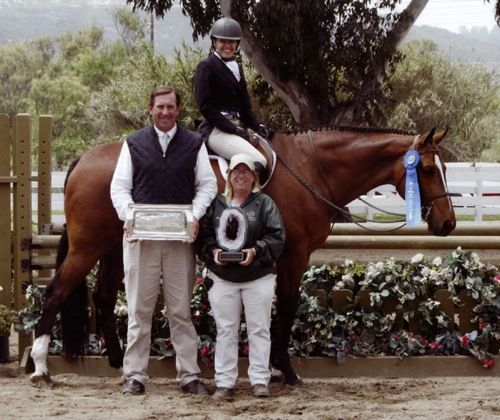 Laura Wasserman and Overseas Amateur Owner Classic Winner 2009 Showpark Photo Captured Moment