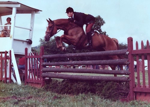Archie Cox and Robert Hoskins Bogart Regular Working Hunter 1984 Coppergate Farm Horse Show