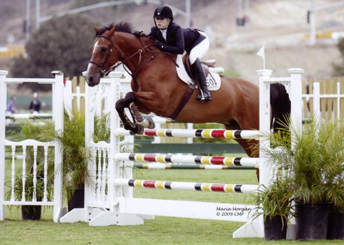 Ashley Pryde and Van Gogh Modified Junior-A/O Jumpers 2009 Showpark Photo Captured Moment