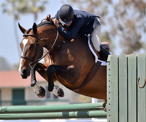 John French and Skyhawk 2017 Del Mar National Photo Osteen