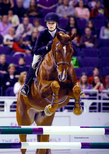 Lucy Davis 4th WIHS Medal Finals 2009 Washington International Photo Al Cook