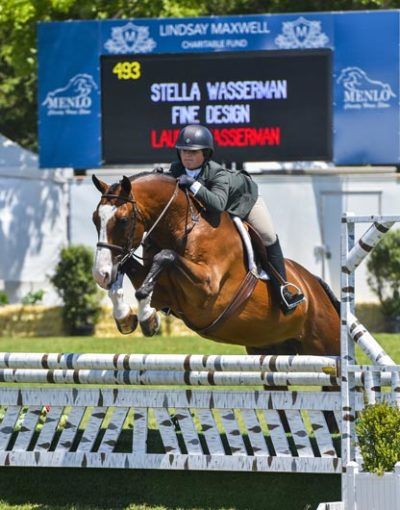 Stella Wasserman and Fine Design 2017 Sonoma Horse Park Photo Grand Prix Photo