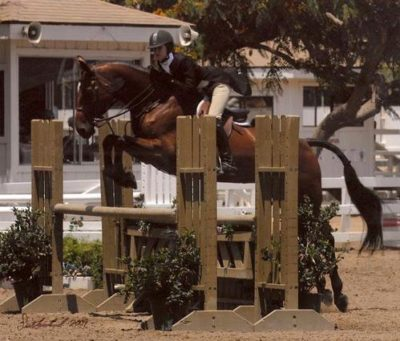 Zoie Nagelhout and Olympia Champion Large Junior Hunters 2010 Showpark of San Diego Photo Flying Horse