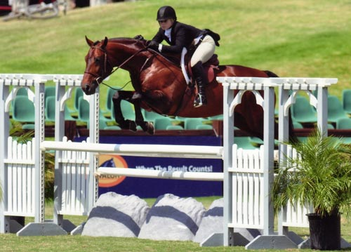 Ashley Pryde and Chaucer $10,000 USHJA International Hunter Derby 2010 Showpark Photo Horse in Sport