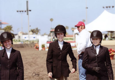 Cayla Richards Gabbi Langston Ashley Pryde and Archie Cox 2010 Del Mar National Photo Osteen