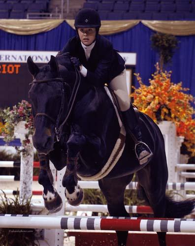Mallory Olsen and The Patriot 2008 Washington Equitation Finals Photo Al Cook