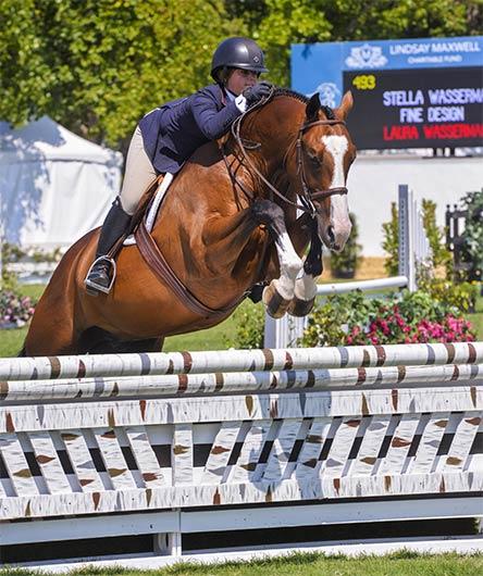 Stella Wasserman and Fine Design 2012 Sonoma Horse Park Photo Grand Prix Photo