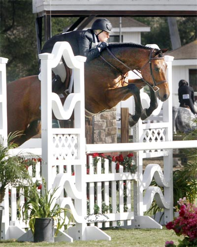 Virginia Fout and Classified $10,000 Special USHJA Hunter Derby 2012 Showpark Racing Festival Photo Captured Moment