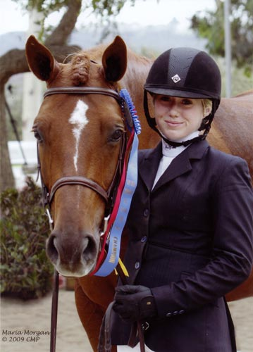 Ashley Pryde and Pringle Champion Small Junior Hunters 2009 Showpark Photo Captured Moment