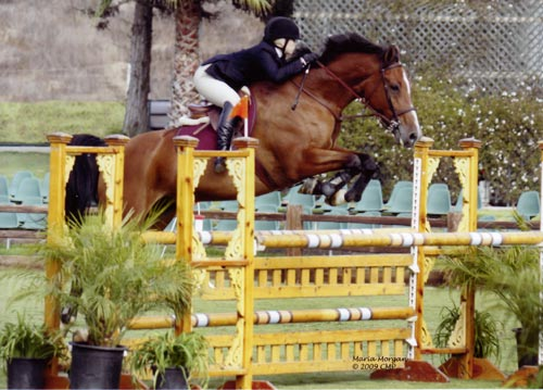 Ashley Pryde and Van Gogh Modified Junior Jumpers 2009 Showpark Photo Captured Moment