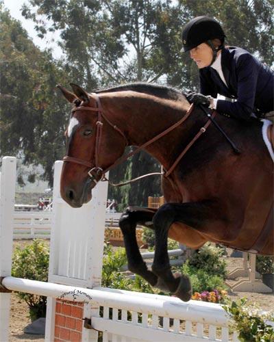 Joan Hasteltine and Biltmore Amateur Owner Hunter 2012 Showpark Ranch & Coast Photo Captured Moment