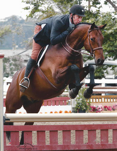 "Archie Cox and Kingston owned by Melanie Selleck 3'3"" Performance Hunter 2015 Showpark Photo Captured Moment"