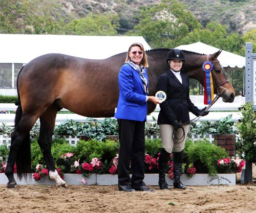 Ashley Pryde and Truly Champion Amateur Owner Hunter Winner Amateur Owner Hunter Classic 2011 Showpark Ranch & Coast Photo Captured Moment