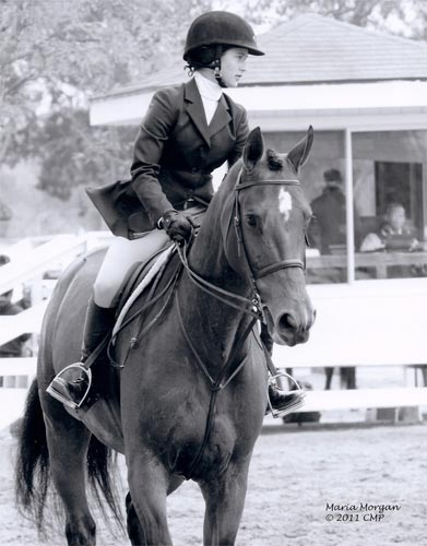 Daphne Harrington and Piper Large Junior Hunter 15 & Under 2011 Showpark Ranch & Coast Photo Captured Moment