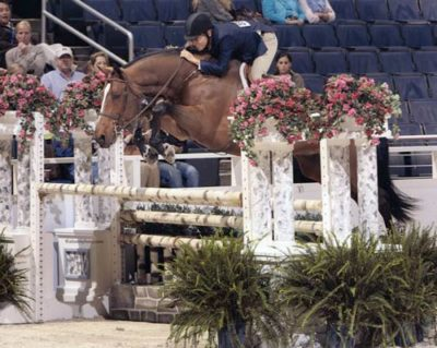 John French and Overseas owned by Laura Wasserman Regular Working Hunters Washington International Photo Al Cook