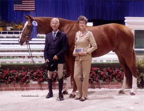 John French and Wesley owned by Joan Hasteltine Regular Working Handy Hunter 2007 Washington International Photo Al Cook
