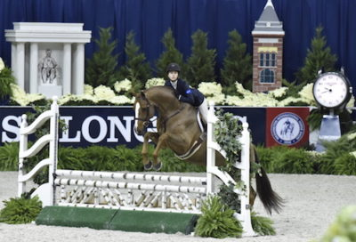 Hunter Siebel and Pure Abundance owned by Mountain Home Stables Champion Large Junior Hunter 15 & Under 2015 Washington International