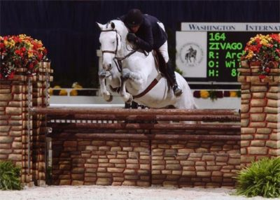 Archie Cox and Zivago owned by Wilder Mountain LLC 2nd Year Green 2011 Washington International Photo Al Cook