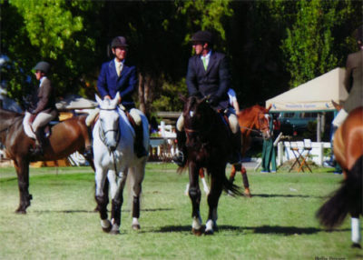 Archie Cox and John French 2012 Menlo Charity Horse Show Photo Bella Peyser