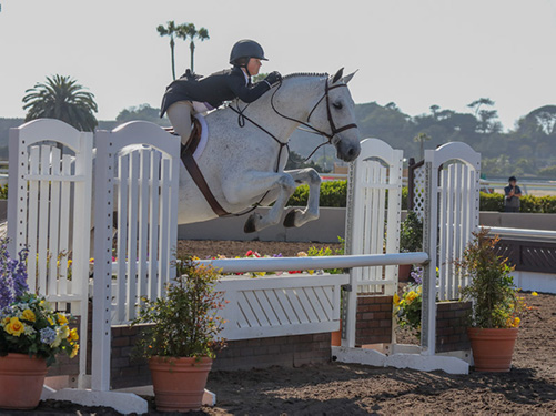 Stella Wasserman and Elizabeth Gablers Soldier 2018 Del Mar National