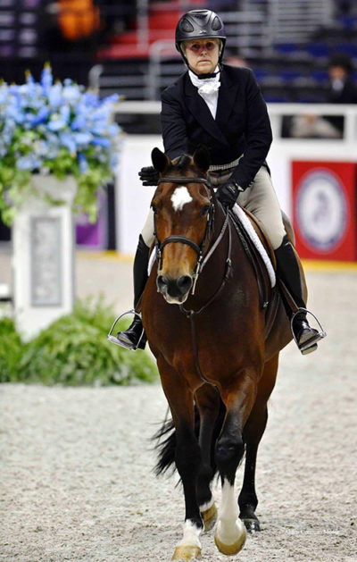 Virginia Fout and Cristiano 2016 Washington International Amateur Owner Hunter 35 and Over Photo by Alden Corrigan