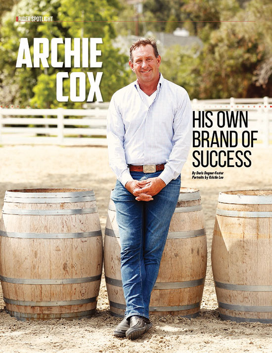 Archie Cox His Own Brand of Success Sidelines Magazine
