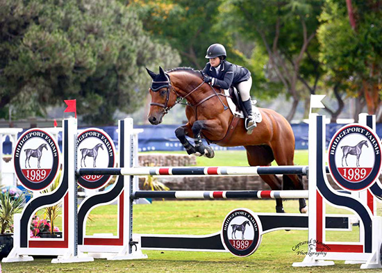 Stella Wasserman and Callahan LL 2018 Showpark Photo by Captured Moment Photography
