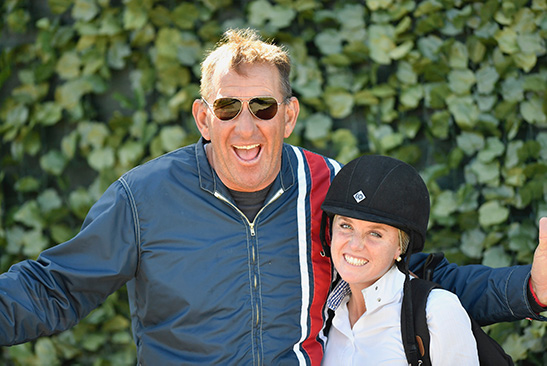 Archie Cox and Karli Postel 2019 WEF Photo by Alden Corrigan Media