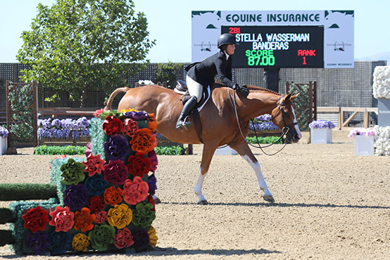 Stella Wasserman and Banderas HMI Equestrian Classic 1 2019 Sonoma Horse Park Photo by Laura Wasserman