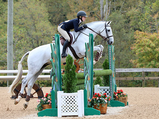Emily Williams and Beach Boy 2019 Capital Challenge Equitation 17 yrs Photo by Laura Wasserman