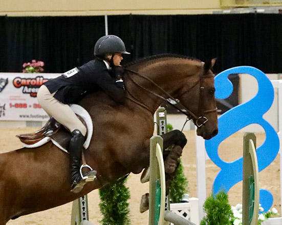 Gable Gering 2019 Capital Challenge Equitation 12 & Under Photo by Laura Wasserman