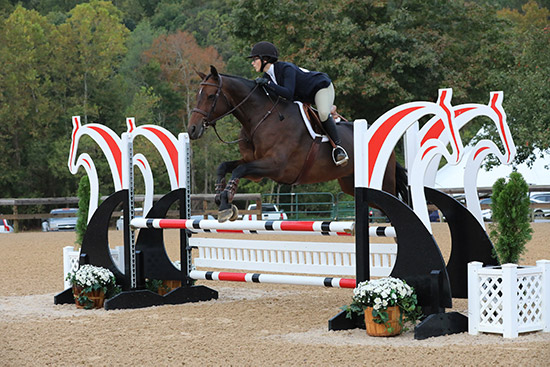 Grace Russo and Eclair HBC 2019 Capital Challenge Equitation 12 & Under Photo by Laura Wasserman