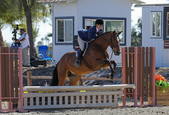 Ecole Lathrop and Eclair Adult Equitation Champion 2019 National Sunshine Series Photo by Laura Wasserman