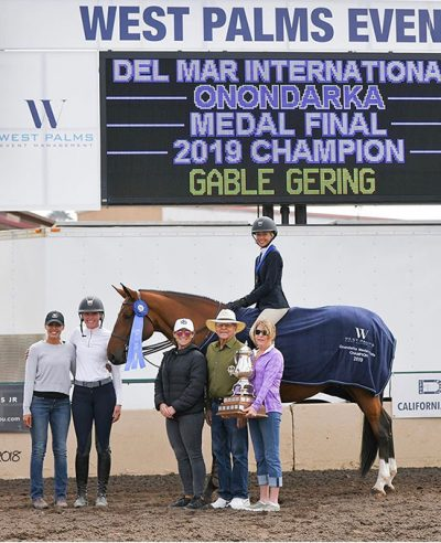 Gable Gering and Decklin Onondarka Medal Finals Champion 2019 Del Mar National Photo by JXB