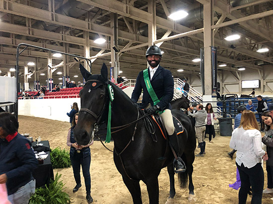 Jorge Hidalgo and Charlie Boy Low Adult Jumper Grand Prix 2019 Las Vegas National