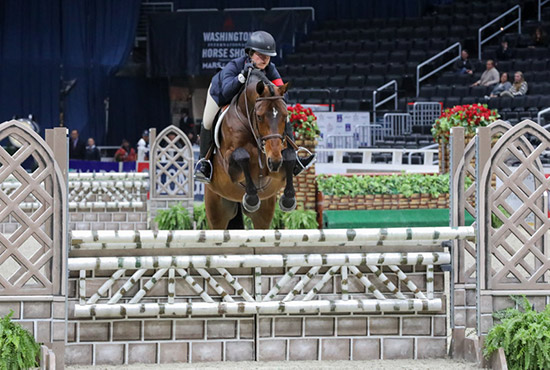 Stella Wasserman and Laura Wasserman's Boss 2019 Washington International Horse Show